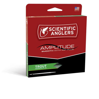 NEW SCIENTIFIC ANGLERS AMPLITUDE SMOOTH TROUT FLY LINE fly fishing freshwater