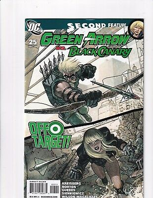 Green Arrow And Black Canary #25 (DC 2009)