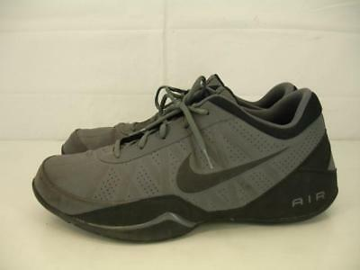 best service b66ce 18669 Mens sz 13 Nike Air Ring Leader Low Basketball Shoes Dark Gray Black  488102-002