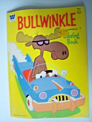 Bullwinkle Coloring Book. Pre-owned.