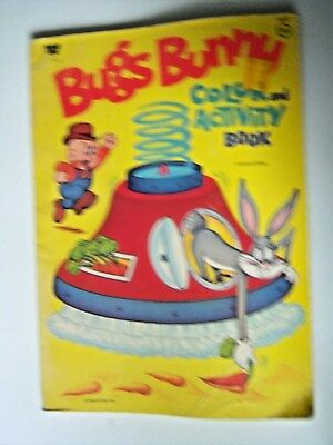 Bugs Bunny Color and Activity Book. Vintage 1971. Pre-owned.
