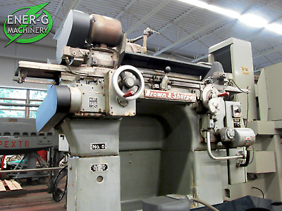 "Brown & Sharpe 3"" X 18"" Cylindrical Grinding Machine, Model. 5, ID# G-002"