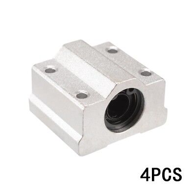 4pcs Linear Bearing Slide Block CNC SCS8UU 8mm Shaft for 3D Printer RepRap TE730