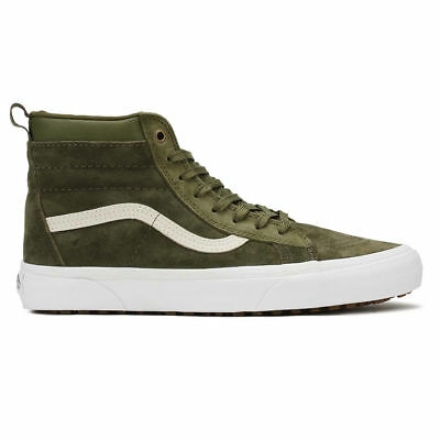 9211fd93f4 NEW Vans MTE SK8 Hi Mens Skate Trail Shoes Winter Moss Olive Green Supreme