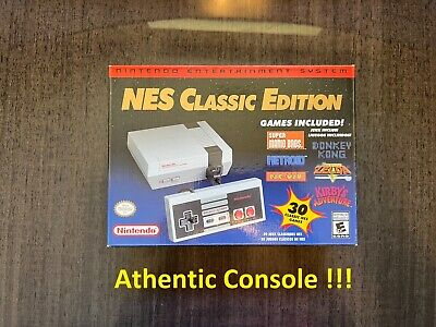 Authentic Nintendo Classic Edition NES Mini Game Console USA Brand New in stock
