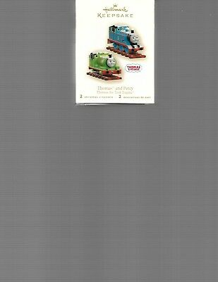 Hallmark Keepsake       Thomas And Percy    2 Ornaments