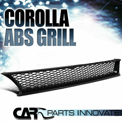 For 93-97 Toyota Corolla Replacement JDM Mesh Type ABS Front Hood Grill Grille R