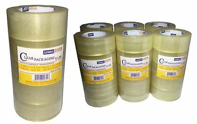 6/36 Rolls Tape Clear Sealing Tape Industrial Tape Packing Tape Box Wearhouse