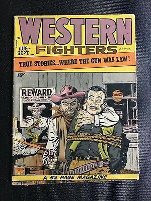Western Fighters Vol 1 #3 (1948)  Hillman Periodicals G/vg