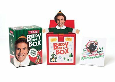 Elf Talking Buddy-in-a-Box:Does somebody need a hug?, Press, Running, New condit
