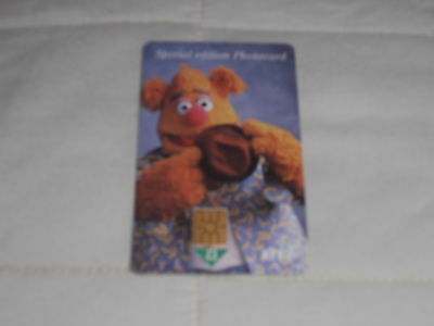 Special Edition Muppets Phonecard - £2