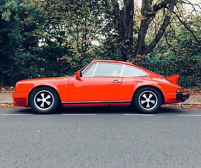 1976 Porsche 911S 2.7 G Model LHD manual in red - very rare - RS 911 SC 993 - PX