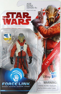 "Star Wars: The Last Jedi ~ 3 3/4"" C'AI THRENALLI EXCL. ACTION FIGURE ~ Hasbro"