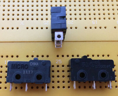 5A 250Vac SPDT Sub Minature Pin Plunger Microswitch Silver ZM 50E10A01 Multi Qty