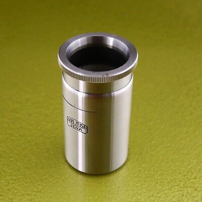 Carl Zeiss Jena LOUPE, optical magnifying glass lens portable CZJ ☆☆☆☆