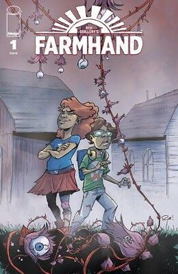 Farmhand #1 Store Connecting Cover Charity Variant Presale 7/11 Ship