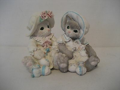 """Calico Kittens-1994-""""You Make Life Colorful"""" Figurine-1 Piece(2 Kittens)"""