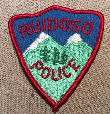 NM Ruidoso New Mexico Police Patch (3In)