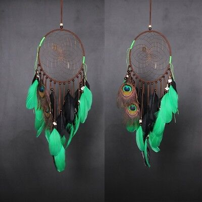 New Dream Catcher Handmade Feathers Wall Car Hanging Decoration Ornament MS0022