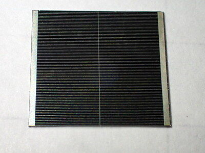 Lot of 5 Efficient Triple Junction 37% CPV Solar Cells AZUR SPACE 3C4