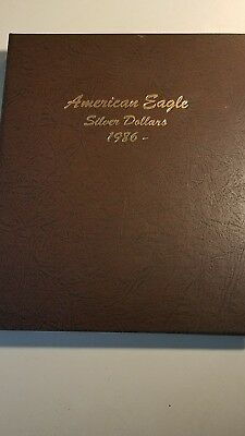 Complete Set Of Uncirculated American Eagles Silver Dollars 1986-2018  (33) 1Oz.