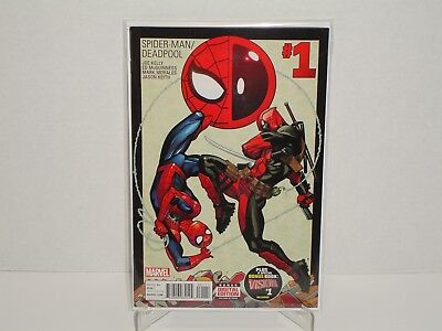 Spider-Man Deadpool #1A - 1st Print - (NM or 9.4) - Kelly - McGuinness - Marvel