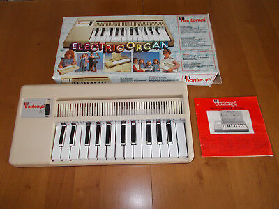 Electric Organ Bontempi - Neuwertig - Vintage Keyboard / Klavier - OVP - RAR