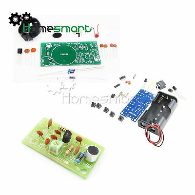 FM Radio Receiver Module Wireless Microphone PCB DIY Kits