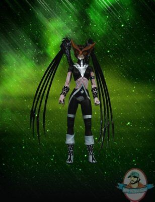 Blackest Night Series 6 Black Lantern Hawkgirl Figure