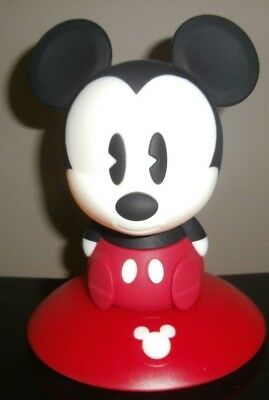 "Mickey Mouse Soft Night Light & Carry Around Light 7"" Tall  Lamp"