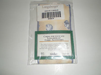 Longaberger Shoreline Fabric Handle Tie ~ 2438474 ~ New in Package