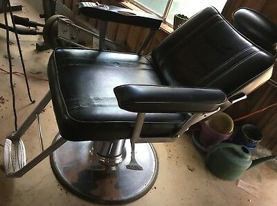Vintage Belvedere Barber Salon Chair - VINTAGE BELVEDERE BARBER Salon Chair - $99.00 PicClick
