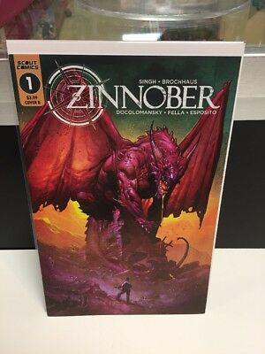 Zinnober #1 Cover B Scout Comics Sold Out Nic Klein Comic Book