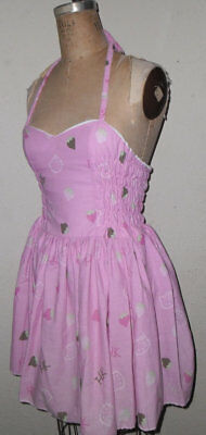 Hello Kitty Candies Custom made to order Sweet Heart Pin Up Character Dress