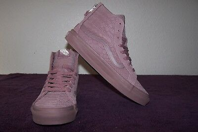 VANS WOMENS SK8 HI Decon Leather Hight Top Lace Up Fashion