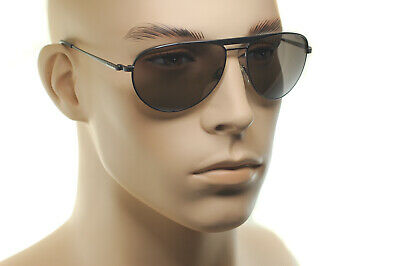 c81eb1ca73f Tom Ford William James Bond tf207 09J Lunettes de soleil gris métal marron  RARE