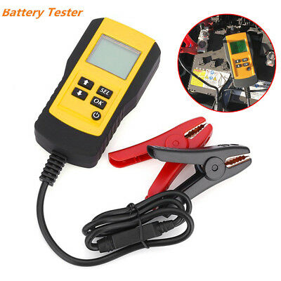 Automotive Storage Battery Tester Portable Car 12V Power Supply Check Ideal Tool