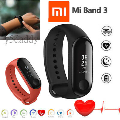 🌟Original Xiaomi Mi Band 3 Fitness Pedometer Heart Rate Monitor Smart Watch