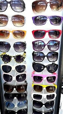 50 pairs Wholesale Job lot Bulk Assorted Sunglasses Various colors uk seller