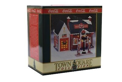 Coca Cola Town Square 1994 Flying A Gasoline Station - NIB