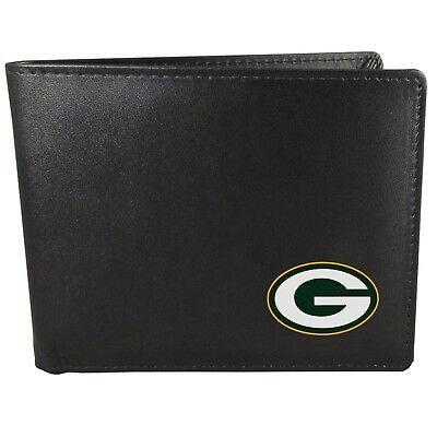 Green Bay Packers Bi-Fold Mens Wallet NFL Football Licensed Product Bifold
