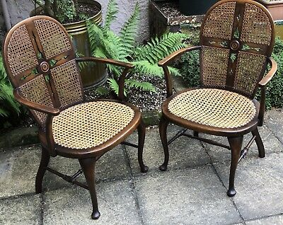 Fine  Pair Of French Art Deco Style Bergere Occasional Chairs