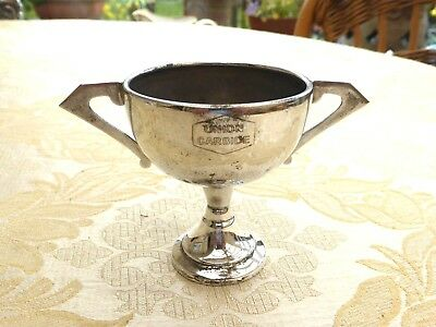 Vintage Silver Plated Engraved 'union Carbide' Trophy/cup   1340268/270