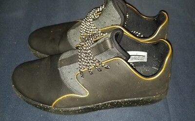 size 40 836f0 02a12 ... reduced nike air jordan eclipse winter black gold holiday shoes 812303  007 mens sz.9.5 ...