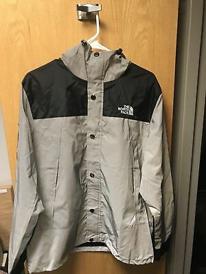 af8a57ac9ba2 Supreme X The North Face Mountain Parka 3M Reflective Black And Silver  Jacket
