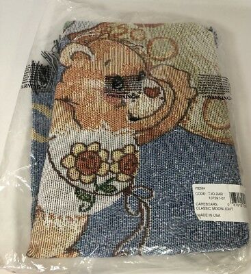 New In Bag Care Bear's Throw Blanket