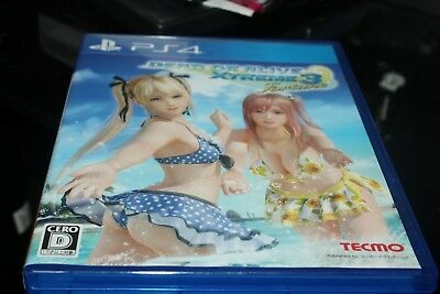 PS4 DEAD OR ALIVE Xtreme 3 Fortune Normal Edition JAPANESE GAME REGION FREE