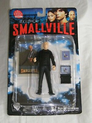 Genuine DC Direct Smallville LEX LUTHOR Series 1 Action Figure Brand New, Sealed