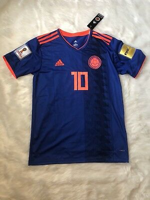 ADIDAS JAMES  10 Colombia Away Jersey World Cup 2018 -  120.00 ... cfa565dc6