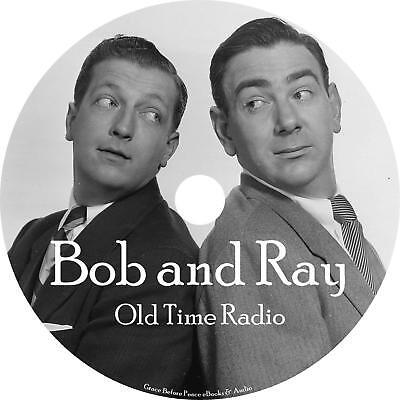 Bob and Ray Old Time Radio Show OTR 1024 Episodes on 1 MP3 DVD Free Shipping